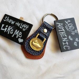 NWOT Dooney  & Bourke Navy Keychain